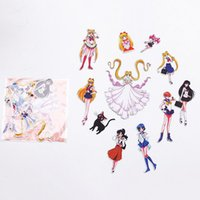 S2 Sailor Moon Belle Intelligent Filles Autocollants Adhésifs Autocollants DIY Décoration Autocollants