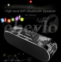 Wholesale Stereo Cell Phone Speaker - Bluedio AS Bluedio AS-BT Fashionable High-end Wifi Bluetooth Speaker 3D Surround Sound Bluetooth 4.1 24 Bit HD Resolution