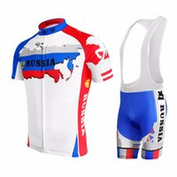 Wholesale Road Cycling Set Clothing - 2017 Russia cycling jersey sets mtb cycling clothing road bicycle clothes ropa ciclismo hombre maillot ciclismo