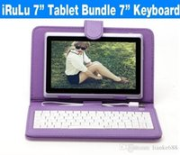 US / UK / China Stock! Q8 7-дюймовый Android Tablet PC 4GB Allwinner A33 Двойная камера WIFI iRULU Kids Tablet Bundle 7