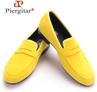 Wholesale Velvet Banquet - British style Plus Size Men Velvet Casual Shoes Men Penny Loafers Party and Banquet Male's Flats Size US 5-14 Free shipping