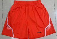Wholesale Fast Drying Pants - lining badminton pant,Li-Ning Tennis shorts,Polyester fast dry lining Badminton Shorts,lining Table Tennis shorts M-4XL Free shipping AE907