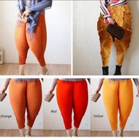 Wholesale Baggy Women Pants Wholesale - Fried Chicken Pants Women Haroon Haren Pants Baggy Pants Hip-Hop Capris Elastic Loose Trousers 3 Styles 20pcs OOA3338