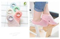 Wholesale Thin Silicone Socks - Summer Children Socks Socks Mesh Stealth Non - Slip Silicone Thin Cotton Shallow Mouth Boys Girls Baby Socks