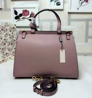 Wholesale Designer Leather Cowhide Handbags - Free Shipping! Quality Brand Designer Women Hobos Genuine Leather Cowhide Handbags Fashion Tassel Soho Shoulder Bag With Chain 421890.