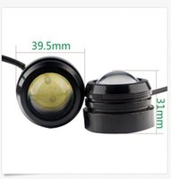 40 * 30mm 3W Car Strobe Flash Lumières LED Eagle Eye LED Daytime Running Light DRL Lights de brouillard