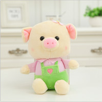 Wholesale Kids Suspenders For Sale - Wholesale- Hot Sale! 20CM Super Cute Pig with Suspender Trousers and the Best Gifts for Kids Free Shipping SY103B