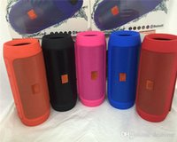 Wholesale Mini Bluetooth Usb Dhl - Nice Sound Charge 2+ Bluetooth Outdoor speaker phone call Mini Speaker Waterproof Speakers Can Be Used As Power Bank DHL Free