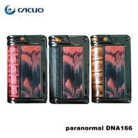 Wholesale Amp Batteries - Authentic Lostvape Paranormal DNA166 TC Box Mod utilizes Evolvs DNA250 board powered by two high amp 18650 batteries