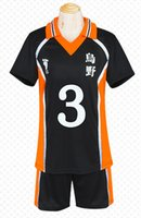 Wholesale cosplay hinata resale online - Haikyuu Karasuno High School Uniform No Shouyou Hinata Cosplay