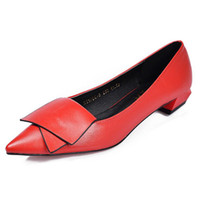 Wholesale Red Ol Women Dress - Super Soft Flexible Pumps Shoes Women Classic OL Pumps Spring Med Heels Office Shoes Wedding Shoes Size 35-40