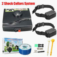 Underground In-Ground Impermeável Electric Dog Pet Fence 2 Shock Collars System