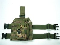 Wholesale Drop Leg Holster Platform - 1000D Nylon MOLLE Tactical Drop Leg Platform Holster for Hunting Paintball AirsoftPlatform with Quick Release Buckle