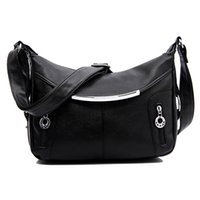 Wholesale Messenger Bag Minimalist - Wholesale-Handbags new leisure minimalist shoulder bag Messenger bag PU women travel packages
