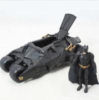 Wholesale Batman Batmobile Tumbler Figure - Batman Tumbler Batmobile Toy Action Figure PVC With Sticker As Gift