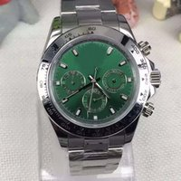 Wholesale Green Dress Dhgate - DHgate AAA selected supplier 2017 new luxury brand watches man 116508 green dial steel watch automatic mvmt watch mens dress watches