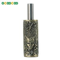 Wholesale Bronze Parts - Body Art Grips Tattoo Gun parts SB005 Relief Witch Individuality Tattoo Grip Non-slip - Bronze