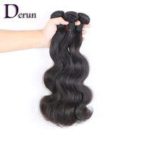 Wholesale full head brazilian virgin hair resale online - Buy Get FREE Hair A Virgin Brazilian Human Hair Extensions Body Wave Dyeable Full Head