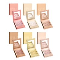 Wholesale Face Cosmetics Palette - 2017 kylie jenner Shimmer Kylighter Highlighter Face Makeup Palette Eyeshadow Blush Contour Highlighter Cosmetic Kylie glow kit 6 colors