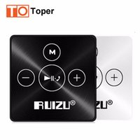 Wholesale Sports Transmission - Wholesale- 2016 Newest Bluetooth Sport MP3 Music Player RUIZU X15 8GB Support Phone Bluetooth Transmission Music Mp3 Bluetooth 4.2 in Stock