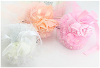 Wholesale Dance Wear For Kids - flowers for headbands hairbands for hair kids hair accessories children girls dance wear christmas hair bows Girls pink bow teal bow
