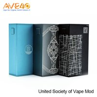 Original USV United Society of Vape L 75W POWER / BYPASS / TEMP / VPC Box Mod Работает на VO Chip VS Vfeng Vaporesso Revenger