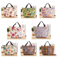 Wholesale Tote Lunch Bags For Women - Fashion Portable Insulated Canvas lunch Bag Thermal Food Picnic Lunch Bags for Women kids Men Cooler Lunch Box Bag Tote DHL Free Shipping