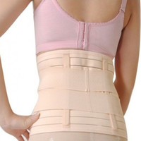 Wholesale weight loss body wraps wholesale - Wholesale- Postpartum Belly band weight loss body wrap Tummy Wrap Corset Girdle postpartum body shaper belly belt girdles faja postpartum