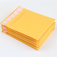 Wholesale High Quality Kraft Envelopes - 10 Pcs 130*130mm Factory Price Factory Wholesale High Quality Kraft Bubble Mailers Padded Envelopes Bags Mailing Bags