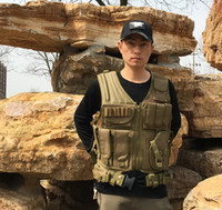Wholesale Tactical Field Vest - Hot Selling High Quality Outdoor CS field more tactical vest bag match chatelaine multicolor fan of American training vest