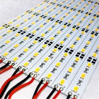 Wholesale 18w 72led - 5630 5730 SMD 72LED M LED Bar Light Strip Non-waterproof Cool White Warm White 10meter DC12V Hard Strip Aluminium led lighting
