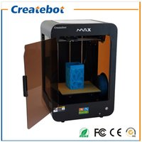 Wholesale 3d Max Metal - Createbot 3D Printer Kit Full metal Large printing size 250*280*400mm High Quality Precision MAX 3D Printer