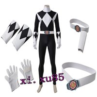 Wholesale Mammoth Movies - Power Ranger Anime Cosplay Costume Mammoth Ranger Goushi Cosplay Jumpsuit Rangers Superhero Cos Jumpsuit Gloves Customize Unisex