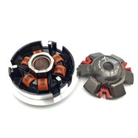 4 Stroke spare parts scooters - koso High Performance Variator Set with Copper Rollers For Most Chinese cc GY6 Scooter QMI QMJ QJ Spare Part