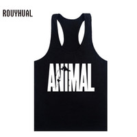 Wholesale Sexy Man Handsome - Wholesale- 2017 new Strong and handsome man healthy men vest letter stringer vest singlet brand tank tops clothing casual