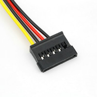 Wholesale ide ata hdd for sale - Group buy 500pcs Serial ATA SATA Pin IDE Molex to of Pin HDD Power Adapter Cable Hot Worldwide Promotion
