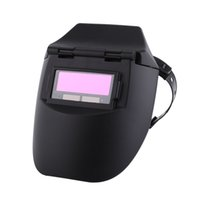 Wholesale Auto Darkening Welding Helmet Lens - Hot sale Auto Darkening Welding Helmet Tig Mig Welder Mask Lenses Solar Powered Cap For Soldering