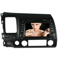 Wholesale Civic Gps Map - 2017 new MTK3360 faster speed 512MB RAM WINCE 6.0 car DVD player 1080P gps system fit for LHD HONDA CIVIC 2006-2011 RADIO BLUETOOTH NAVI MAP