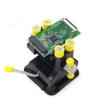 Wholesale Pcb Table - Mini Table Vise Suction Bench Clamp Hobby PCB Repair Soldering Jaw Opening 48mm