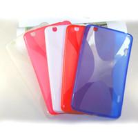 покрытие планшета для lg 8.3 оптовых-X дизайн ТПУ обложка кожи силиконовый чехол гель чехол для LG G Pad GPad 8.3 дюймов V500 V510 Tab Tablet