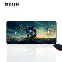 Mairuig Shop Custom Iron Man 3 Tastiera portatile Pad Super Player Home Internet Bar Mouse pad grande 400x900mm per Batman Games CS GO