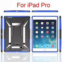 Wholesale Ipad Mini Black Sleeve - For ipad Pro ipad mini 4 T-Type Clip Back Sleeve Cell Phone Case Dirt Resistant Quakeproof