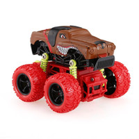 Wholesale Inertia Toy Car - 1:34 Animal Inertia Car Toy Off-Road Car 4WD Alloy Big Wheels Shock Resistant Inertia Vehicle Colorful Friction Powered Car Toy