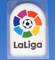 Plastique de football Prix-Nouveau plomb en plastique La Liga 2017/18 patchs Plastic La Liga Patch 2018 badge de football