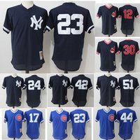 Wholesale New York Yankees Cleveland Indians Chicago Cubs Mesh Mitchell Ness Cooperstown Batting Practice Jersey