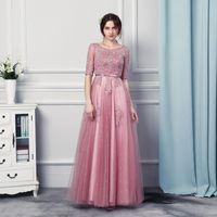 Wholesale Custom Made Clothing China - Cheap Clothes China Vestido Festa Longo 2017 Formal Dresses Evening Wear Floor Length Prom Dresses for Women
