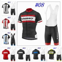 Wholesale Giant Blue White Mountain Bike - 2017 New Giant Cycling clothing Pro Cycling Jersey Ropa Ciclismo Bicycle sets Mountain MTB Bike cycling clothing Maillot Ciclismo