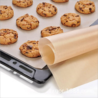 Wholesale silicone mat Barbecue Tool Accessories Baking Bake Mat Oven Liner Reusable Non Stick BBQ Grill Mats quot X quot
