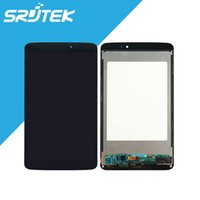 Grossiste-Pour LG G Pad 8.3 V500 Ecran LCD Ecran Tactile DIigitzer Panel Full Assembly Noir / Blanc Pièces de rechange Wifi Version