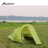 Wholesale Two Room Tents - HIMAGET Brand Double Layer 2 Person Outdoor Products Waterproof Light Weight Camping Tent